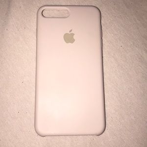 Pink Sand Apple Silicone Case